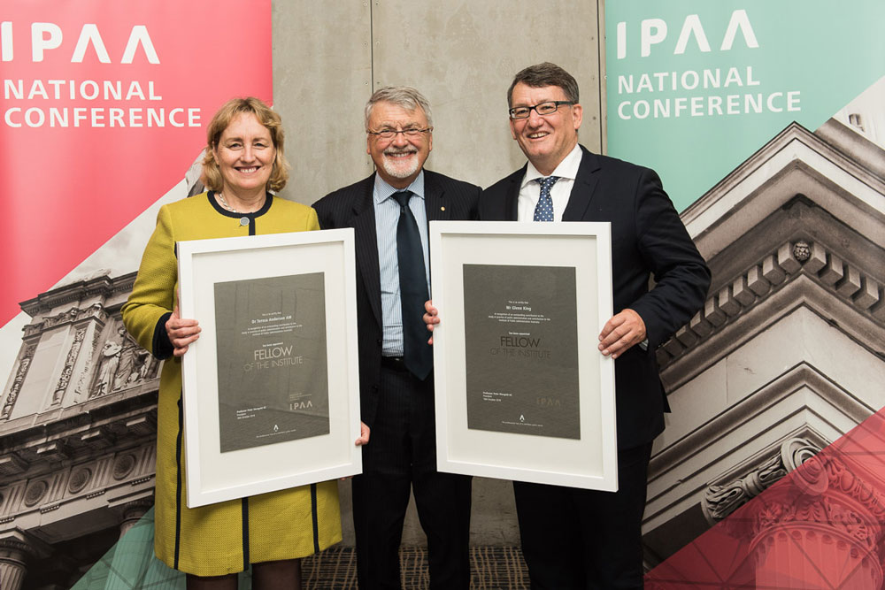 Professor Peter Shergold announces IPAA's new National Fellows