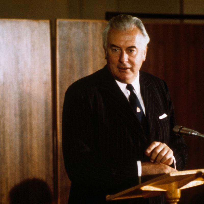The Hon Gough Whitlam MP AC QC — Prime Minister of Australia (1973)