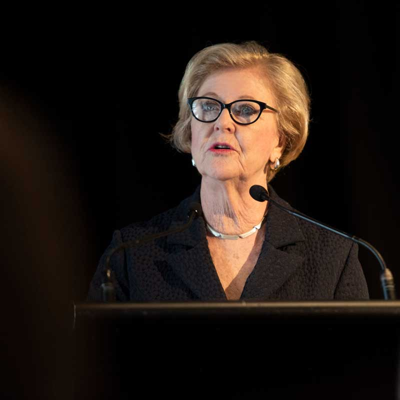 Emeritus Prof Gillian Triggs (2018)