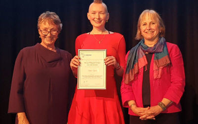 Sophie Yates, Winner of the 2017 Sam Richardson Award, Collects the Rosemary O'Leary Prize