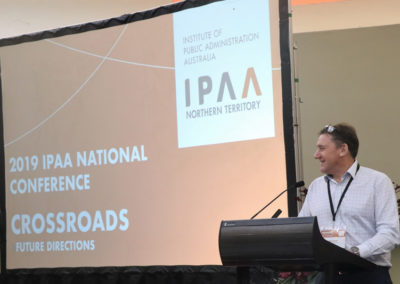 Craig Allen, IPAA NT President closes the conference