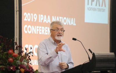 Outgoing National President Peter Shergold: public servants are a foundation of democratic governance, vital to Australia's future