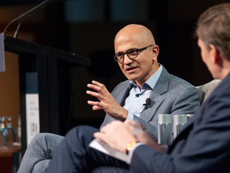 Satya Nadella: insights for Australia's public sector from the Microsoft CEO