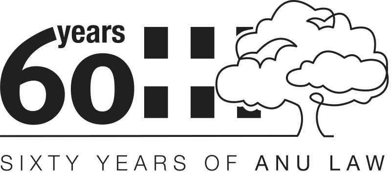 60 years of ANU Law logo