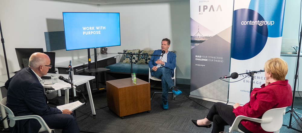 IPAA ACT: The first 'Work with Purpose' podcast is now available