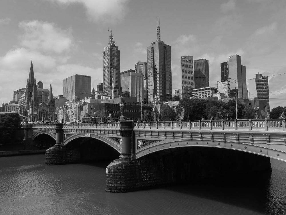 Melbourne streetscape