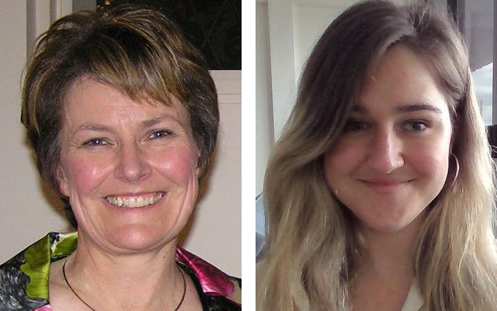 Associate Professor Deirdre O'Neill and Ruby O'Connor